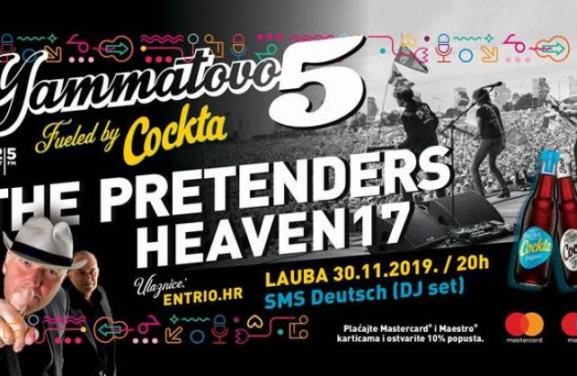 The Pretenders i Heaven17 na Yammatovu!